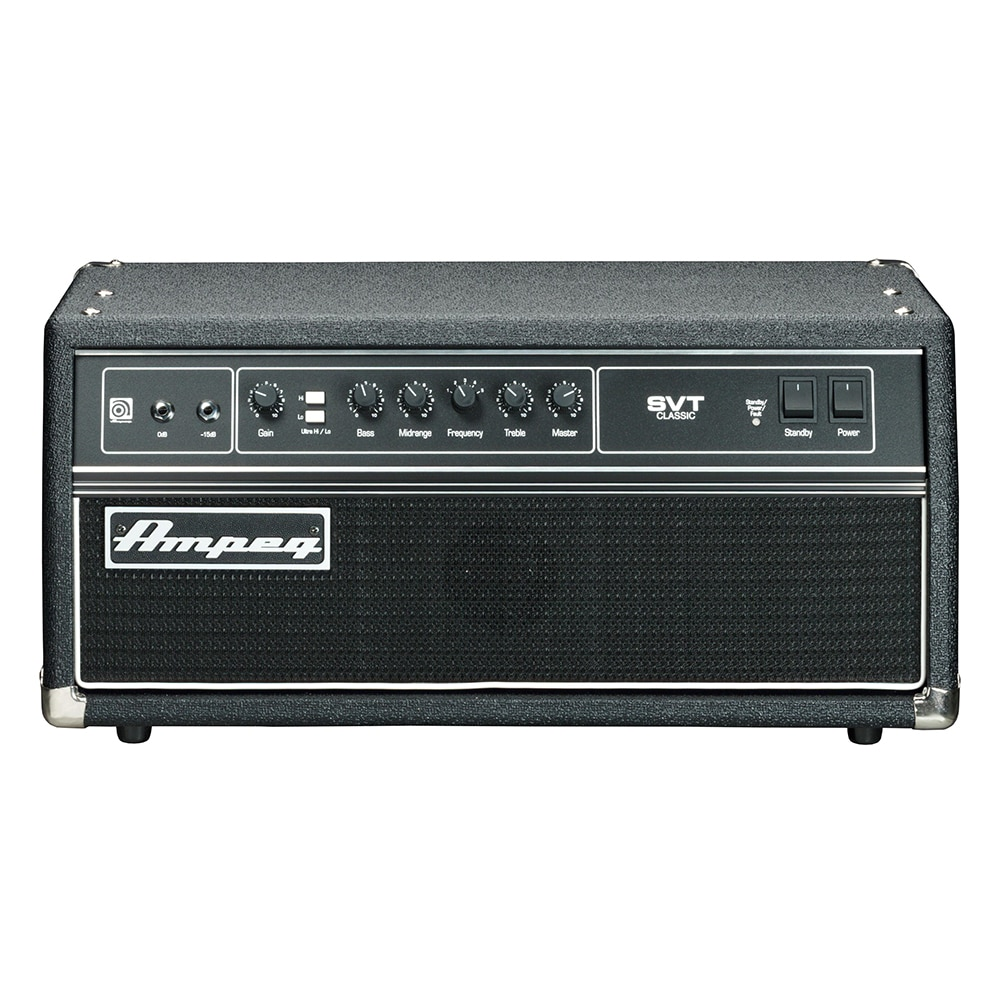 ampeg svt cl classic 300w valve bass head amplifier dm. Black Bedroom Furniture Sets. Home Design Ideas
