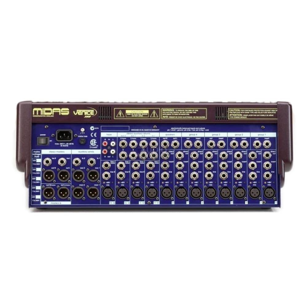 Midas Venice 160 - 8 mono, 4 stereo : DM Audio Ltd