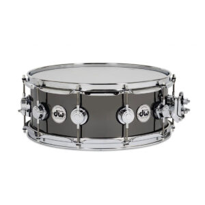 Snare drum - 14 x 5.5 DW Collector's Series - Black Nickel Over Brass